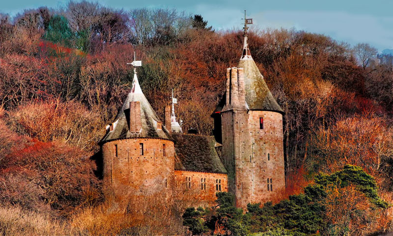 Castle Coch today- Click to Enlarge